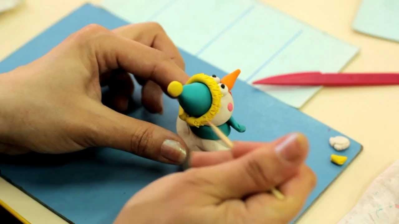 Пластилиновый мультфильм своим руками